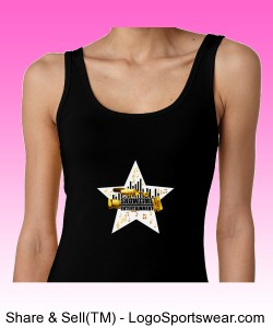 ShowEntTheMvmnt Black Women's Tank Design Zoom