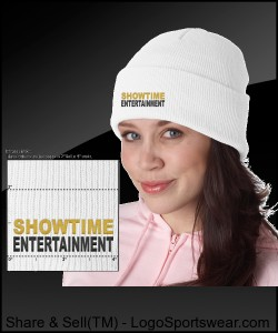 ShowEntTheMvmnt White Skull Cap Design Zoom