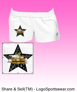 ShowEntTheMvmnt White Women's Boy Shorts Design Zoom