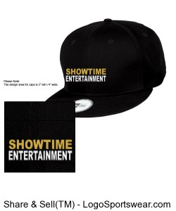 ShowEntTheMvmnt Black Snapback Design Zoom